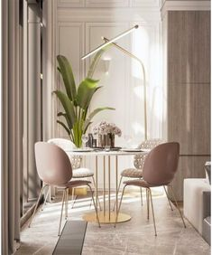 Get inspired by these dining room decor ideas! From dining room furniture ideas, dining room lighting inspirations and the best dining room decor inspirations, you'll find everything here! Design Living Room, Dining Room Design, Living Room Interior, Living Room Decor, Design Room, Design Bathroom, Design Kitchen, Kitchen Interior, Small Bathroom