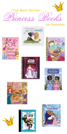 Let's talk princess books.  From the classic to the non-traditional, these princess books are the best ones on Amazon....and your fantasy loving kiddo will want to read them all again and again!