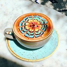 Our signature ColorBurst Latte is almost too pretty to consume. Almost. : @bi_ente