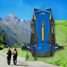 45L Tactical Camping Hiking Traveling Mountaineering Backpack Hiking Tips c68d0ba6b3871