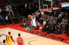 #Nuggets forward Kenneth Faried's 2013 #NBA All-Star Weekend.