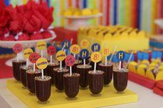 Encontrando Ideias: Festa Beyblade!!!