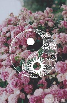 summer   yin yang floral