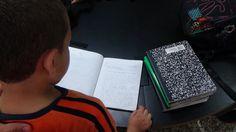 Niños en la hora de tutoría.