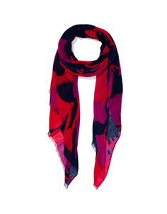 Image for Bold Floral Scarf from JacquiE