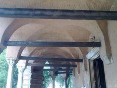 Santa Fosca, Torcello, Italy, portico