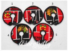 Chicago Blackhawks Gtube Covers Gtube Pads Mic-Key Mickey Button Feeding Tube Pads Custom