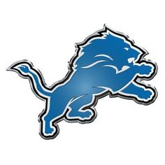 Detroit Lions Color Team Emblem