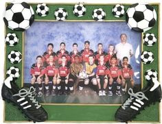 Amazon.com: Soccer Picture Frame: Home & Kitchen