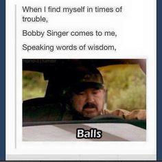 Supernatural Bobby Singer
