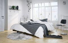 Scandinavian Bedroom on Behance
