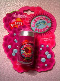 Claire's Raspberry Fizzie Lip Balm
