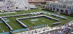 Johnson-Haygood Stadium. The Citadel, Charleston, SC. Citadel vs. Western Carolina, 2008
