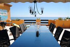 Eksklusiv penthouse i #Estepona (Los Granados Playa) 8 sovepladser, 50 meter til stranden og 0,5 km til golf! www.Feriebolig-Spanien.dk/6930