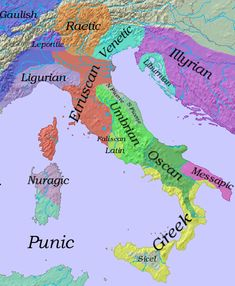 Main Language Groups in Iron Age Italy, century BC. Iron Age, Ancient Rome, Ancient History, Ancient Aliens, Ancient Greece, World History, Family History, European History, American History
