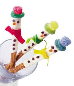 Salty, Sweet and Sour! All the Good Things Rolled into One Little Snowman!