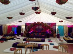 If you are looking for event decor for events such as mehndi night decor, pre-wedding parties, henna parties, sangeet nights and Asian themed events, then look no further than the UK's most exciting decorating team Maz of Leicester. Parties are supposed to be great fun, so we will create a theme that stimulates all senses …