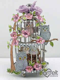 Click to Zoom: Owl Love Nest Cage
