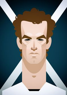 Andy Murray by Stanley Chow
