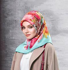 Aker Silk Hijab Scarf Fall 2016 Winter 2017 #7094-353