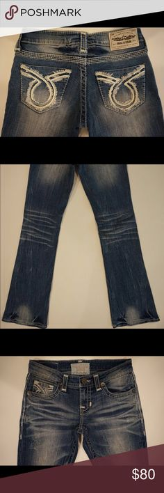NWOT Big Star Vintage Collection Liv Boot Low Rise New without tags (some NWT) Big Star Vintage Collection Liv Boot Low Rise Fit jeans. 92.6 % cotton, 6.2 % polyester, 1.2 % spandex. These jeans are factory seconds; please message me prior to purchase so I can inspect the jeans for defects and provide exact measurements. I can list your jeans in a separate listing. Big Star Jeans Boot Cut