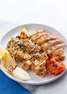 Mediterranean Grilled Chicken Breasts