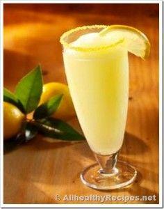 Frosty Lemon Drink