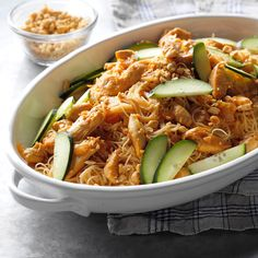 Skip the pricey takeout bill. These easy Thai recipes can be made right at home, and they taste just as good. Learn the secrets to all of your favorites, like pad thai, thai chicken, red curry and more. Easy Thai Recipes, Noodle Recipes, Asian Recipes, Dinner Recipes, Ethnic Recipes, Skinny Recipes, Yummy Recipes, Dinner Ideas, Recipies