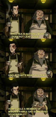 Vile thing to say about tea