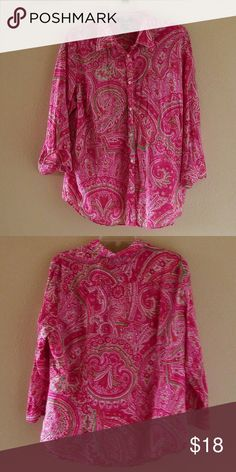 Ralph Lauren Very cool multi color shirt by RL ( excellent used condition see pics for details.) Ralph Lauren Tops