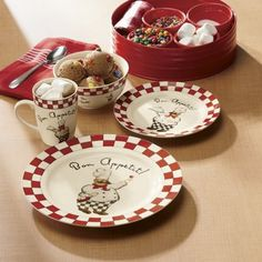 Dinnerware   Hereu0027s A Collection Of Chefs That Are Just Waiting To Lend A  Helping Hand In Your Kitchen.