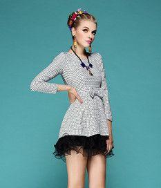 Spring Dresses For Women White Black
