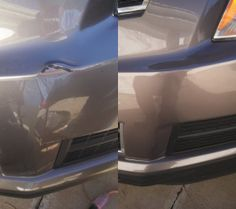 Before & After Thanks to Tedrick's Recon