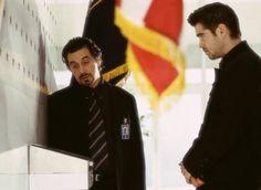 Still of Al Pacino and Colin Farrell in El discípulo (2003)