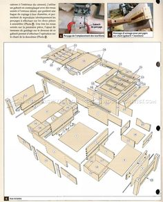 #2247 Coffee Table Plans - Furniture Plans