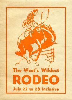 Vintage Clip Art - Rodeo Cowboy - The Graphics Fairy
