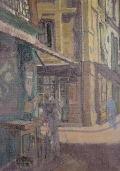 Walter Sickert - Street in Dieppe