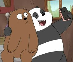 3 Bears, Cute Bears, Bear Wallpaper, Cartoon Wallpaper, We Bare Bears Wallpapers, Cute Wallpapers, Cartoon Profile Pictures, Cartoon Sketches, Bear Cartoon