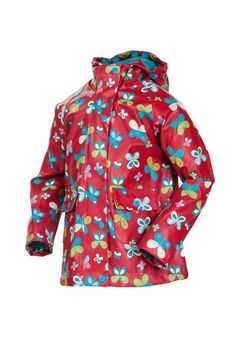 8221d0ba9b2 Target Dry Girls Flutterby Raincoat - Butterfly Print Smile in the rain  There s no need to feel glum with the rain is on This waterproof and fully