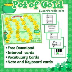 A treasure chest of FREE colorful, creative, and fun music games, worksheets, and teaching resources.