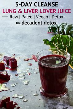 Cleansing Beet Orange Juice for Liver Detox - The Blender Girl