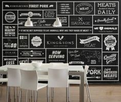Wallpaper Republic King and Sons Butcher from Wallpaper Republic