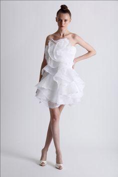 marchesa bridal.... PERFECT reception dress.