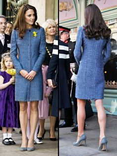 Kate Middleton Raises Eyebrows With Frayed Missoni Coat at Official Tea  With the Queen 558b03673d