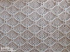 Trellis stitch | Lik
