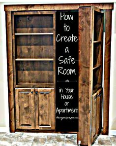 How to Create a Safe Room in Your House or Apartment | The Organic Prepper | #prepbloggers #homesecurity