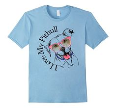 Cute Pitbull Shirt for Pit bull Moms.  Grab this cute Tee Shirt to show off your love for your dog.  Lightweight, Classic fit, Double-needle sleeve and bottom hem