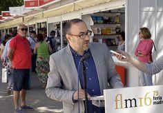 7/06/16. MICRO DE LA FERIA: Jesús Marchamalo (Escritor y Periodista). Foto © Jorge Aparicio/ FLM16