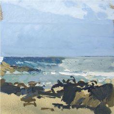 Greys, Blue and Browns, Porthmeor   Lucie Bray
