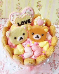 日本人のおやつ♫(^ω^) Japanese Sweets リラックマおやつデラックス Rilakkuma ♥ Dessert #food #bento…